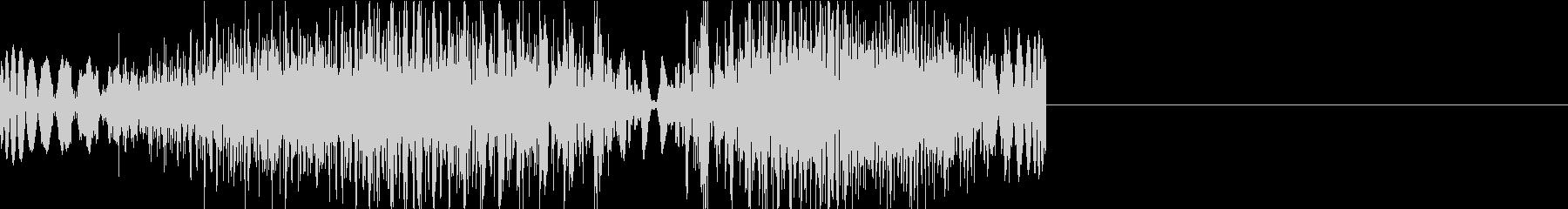 DJプレイ スクラッチ・ノイズ 316の未再生の波形