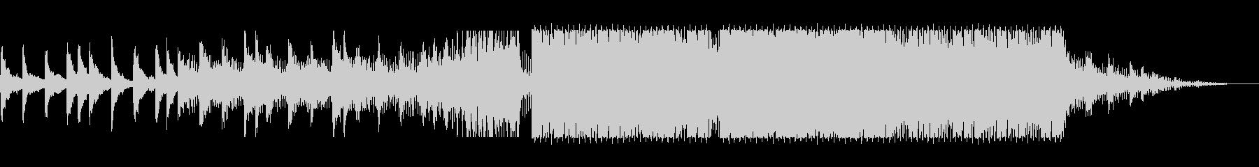 アルペジオが特徴的なドラムンベースの未再生の波形