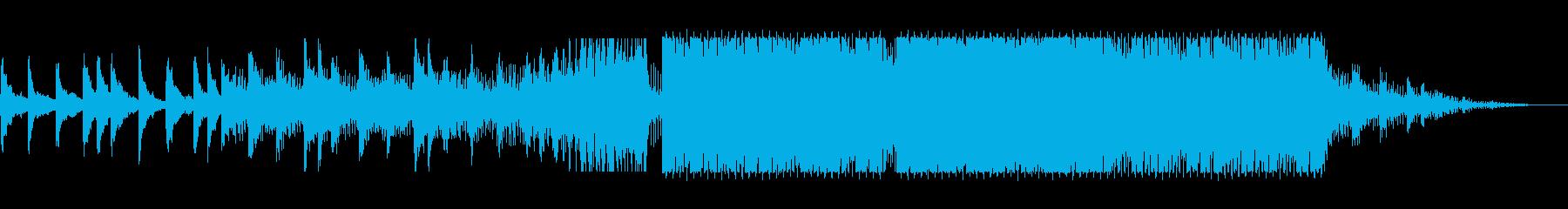 アルペジオが特徴的なドラムンベースの再生済みの波形