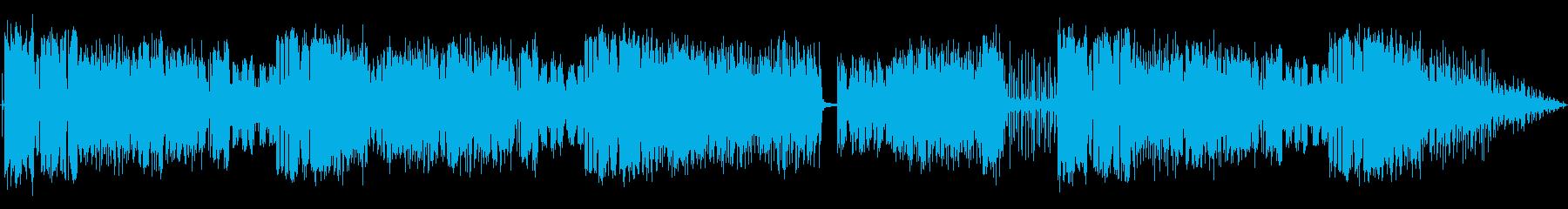 管楽器メインの軽快なジャズの再生済みの波形