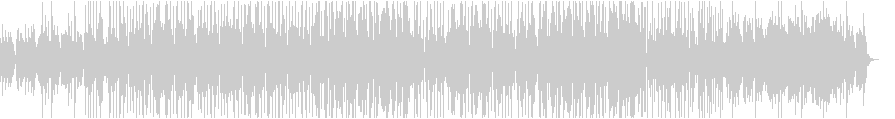 フルートが印象的なブルースっぽいジャズの未再生の波形
