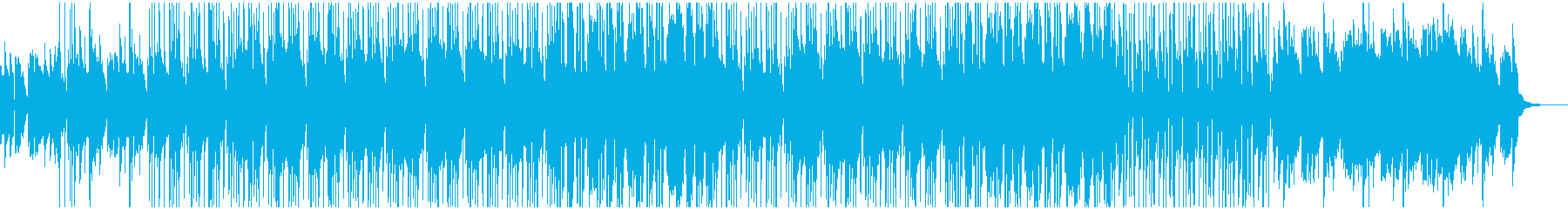 フルートが印象的なブルースっぽいジャズの再生済みの波形