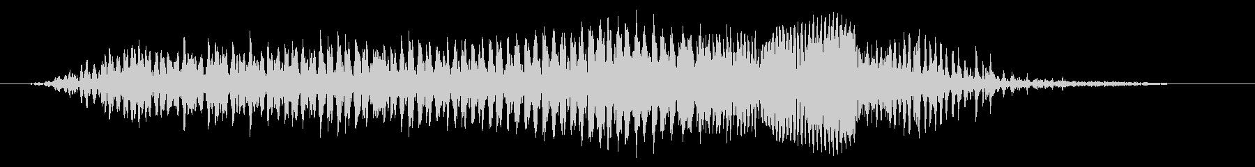 成人男性:圧力うなり声の未再生の波形