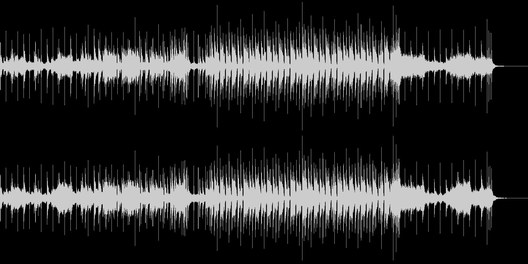 浮遊感のあるJAZZソウルサックスBGMの未再生の波形