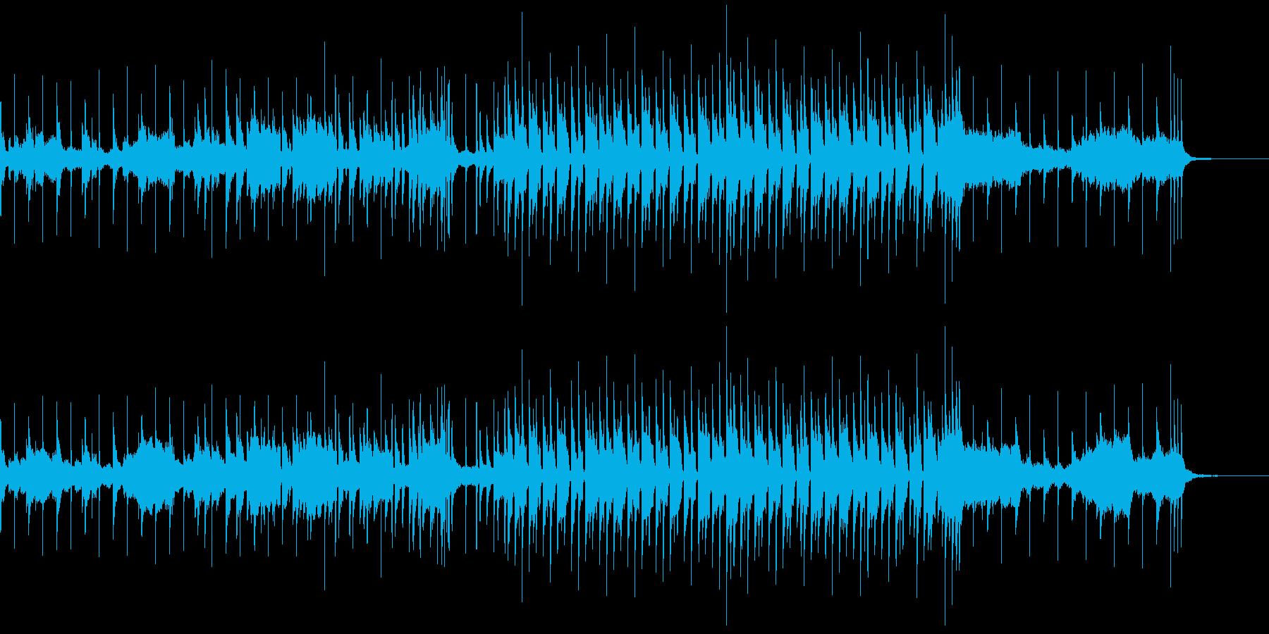浮遊感のあるJAZZソウルサックスBGMの再生済みの波形
