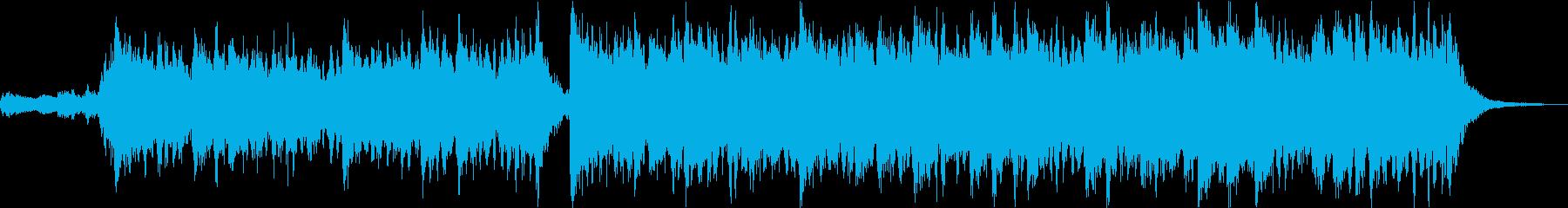 ピンチ・危機・バトル・重厚なオーケストラの再生済みの波形