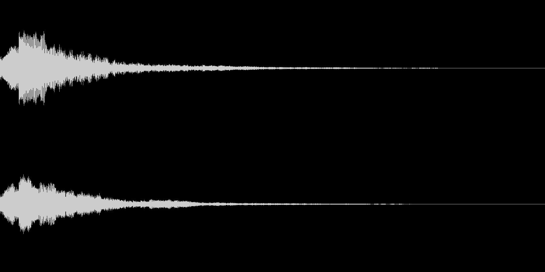 しゃらん♪ (連鎖09)の未再生の波形