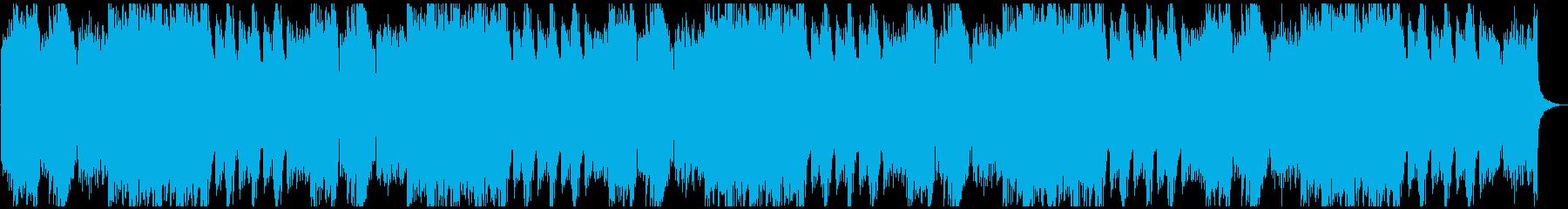 ハイテンポでシリアスな超絶技巧ピアノソロの再生済みの波形