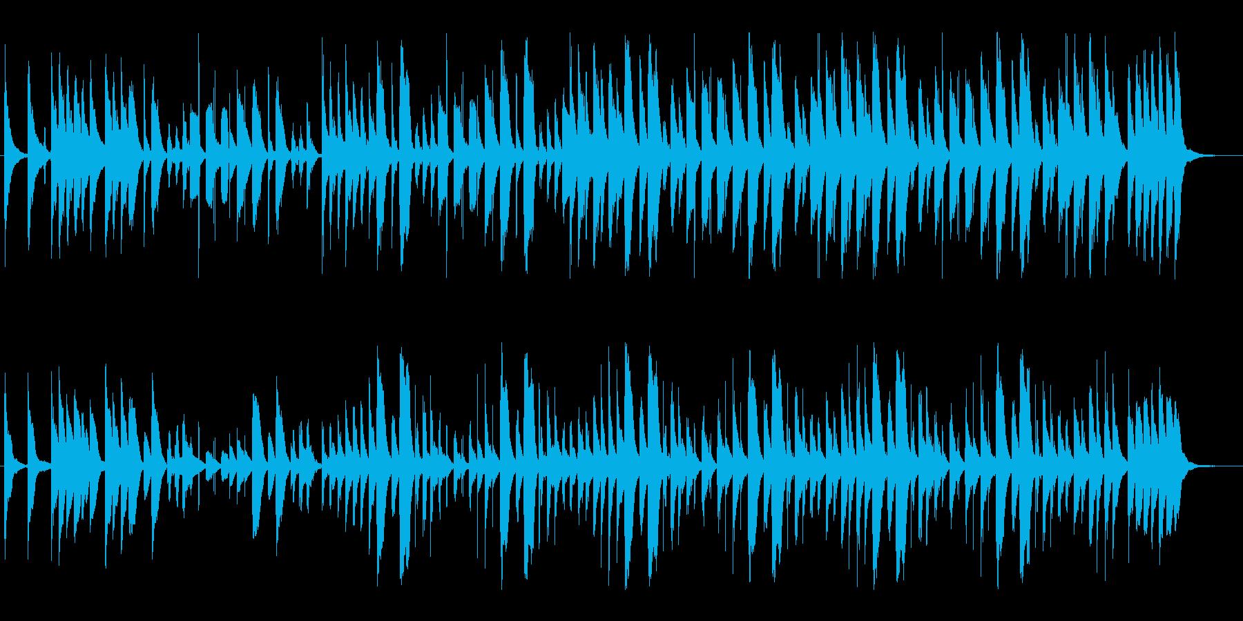 ほのぼのライトモダンアコースティック♪の再生済みの波形