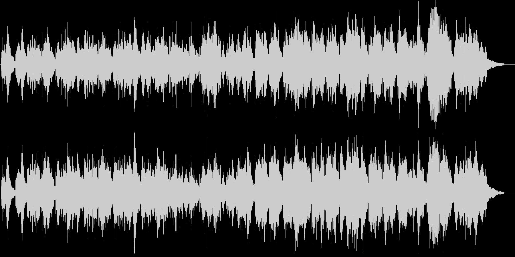 神話・ファンタジーなケルトハープと笛の未再生の波形