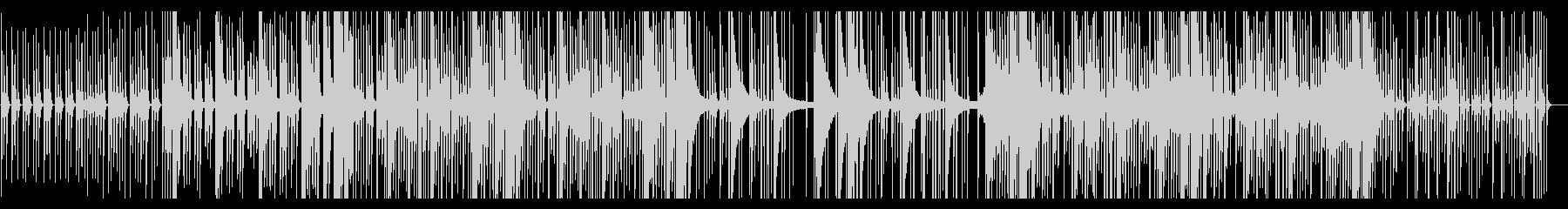 芽吹きをイメージした淡いミニマルポップの未再生の波形