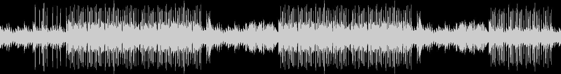 洋館・ホラー・ピアノ・悲しい・ループの未再生の波形
