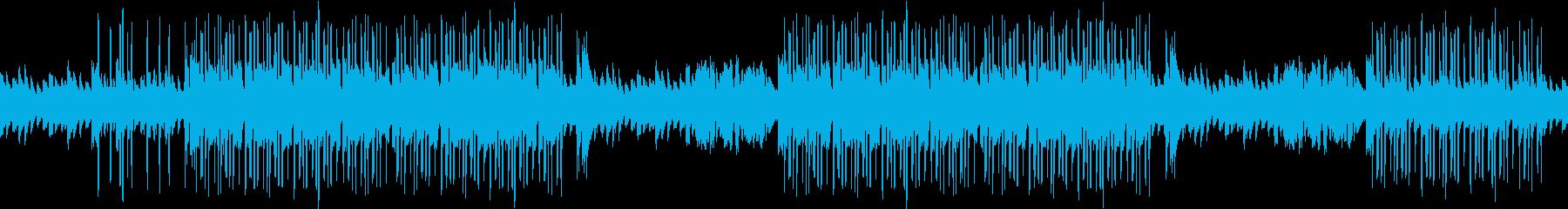 洋館・ホラー・ピアノ・悲しい・ループの再生済みの波形