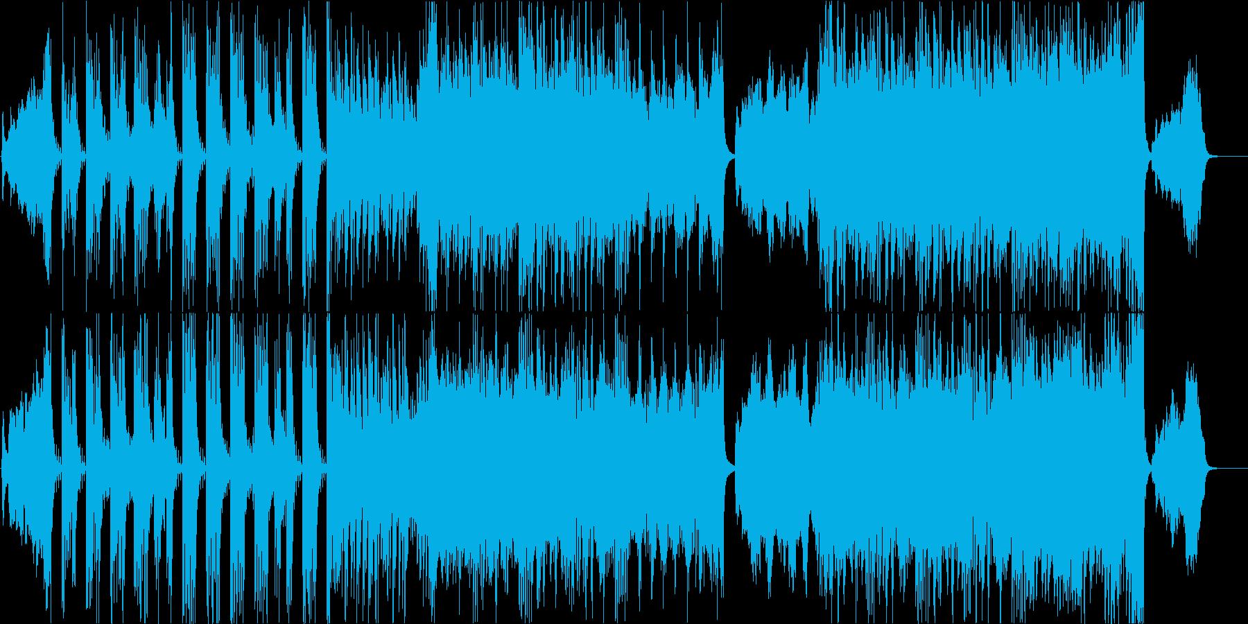 壮大で明るいディズニー風オーケストラの再生済みの波形