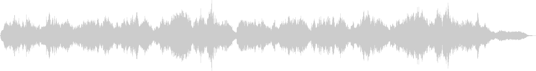 オーボエの旋律とSQ=穏やか、流麗の未再生の波形