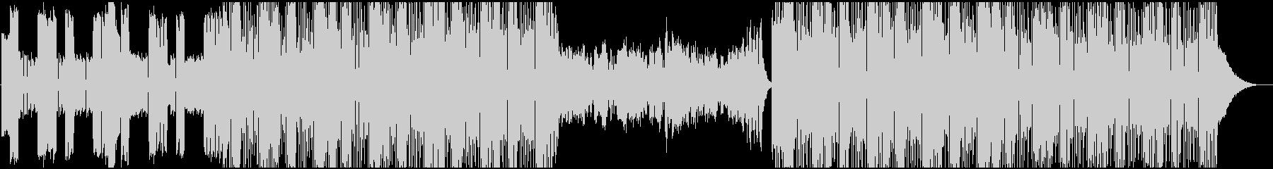 キルビル的戦闘向けデジタルロックBGMの未再生の波形