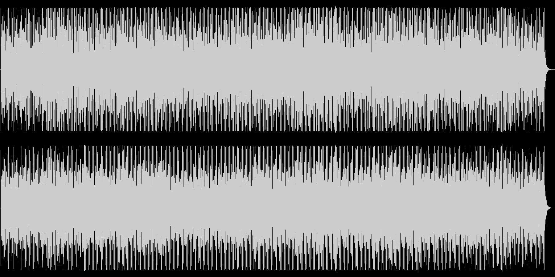 軽快で明るいトークBGM向けシンセ曲の未再生の波形