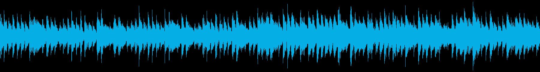 【ループ/30秒】ギター生演奏ボサノバの再生済みの波形
