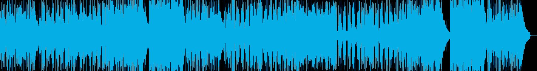 生サックス 落ち着いた雰囲気のバラードの再生済みの波形