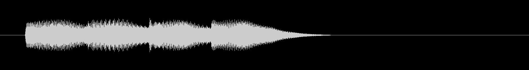 スマホイメージの通知音4の未再生の波形