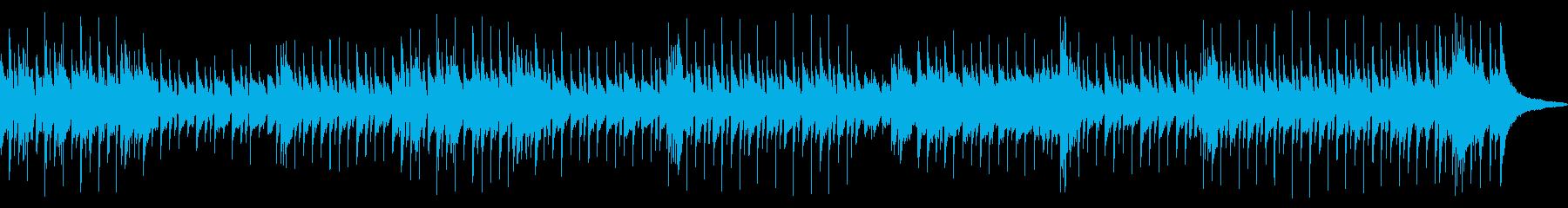 カントリー、フォーク、バラードスタイルの再生済みの波形