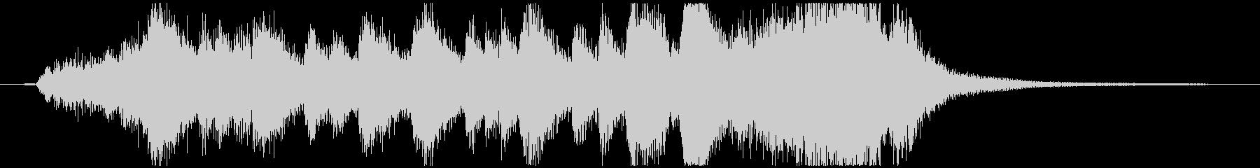 Fantastic Fanfareの未再生の波形