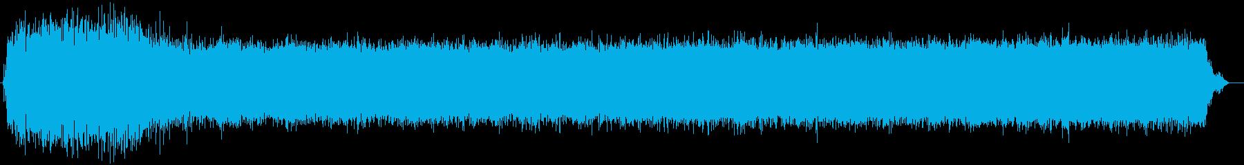 ハードとソフトの成分混合物:起動、...の再生済みの波形