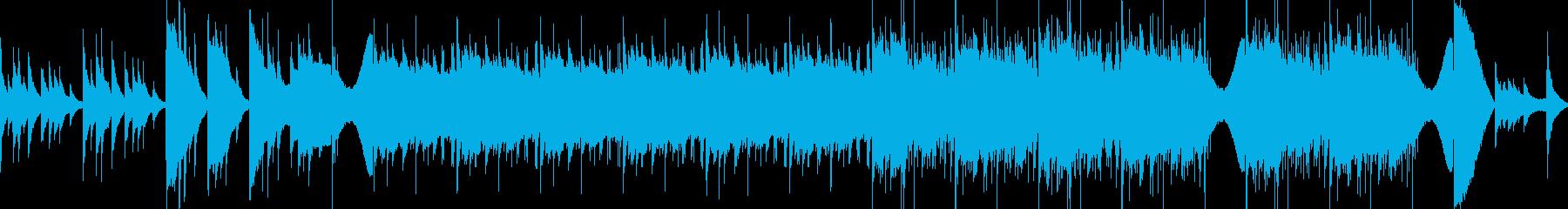 イントロバレエ、ウォーキング、オペ...の再生済みの波形