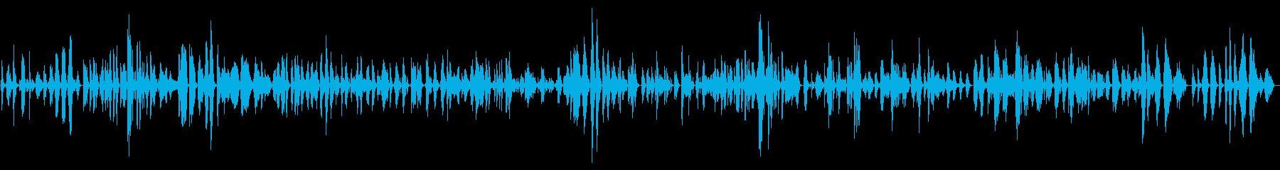 和風な響きのあるメロディーの再生済みの波形