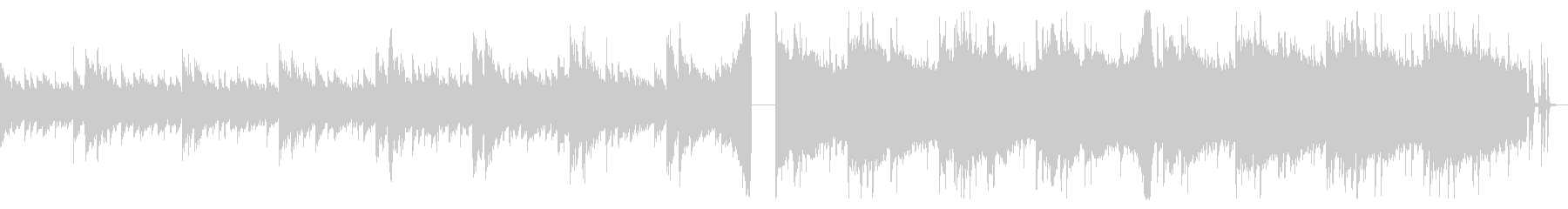 ホラー感のあるトラップ_2の未再生の波形