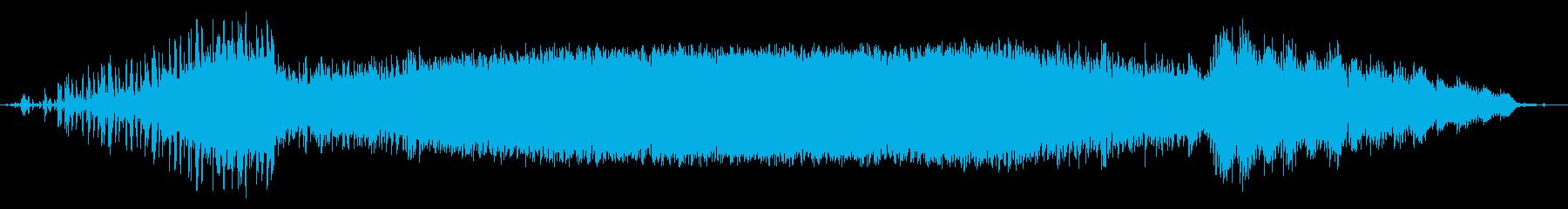 インストゥルメンタル、ポップ、バッ...の再生済みの波形