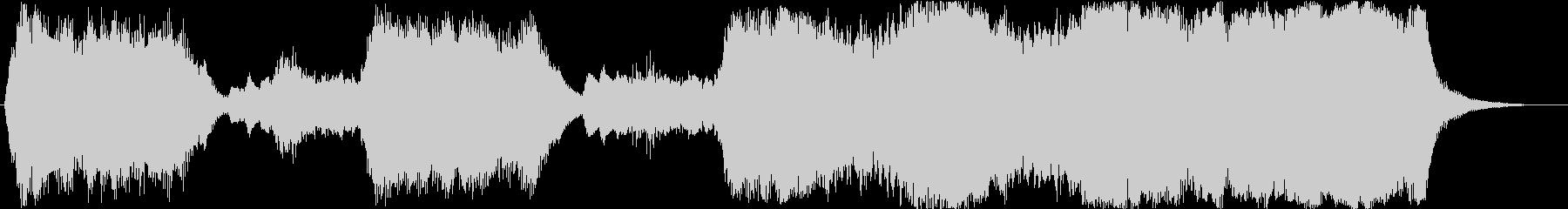 金管のみを使ったファンファーレ1の未再生の波形