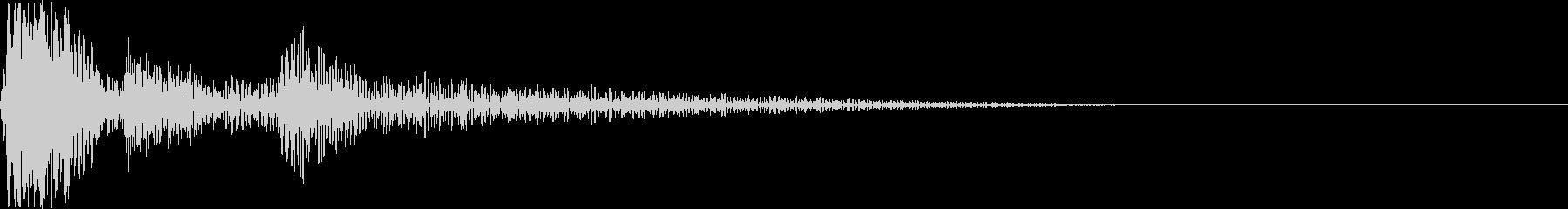 キャンセル_タップ_クリック_20807の未再生の波形