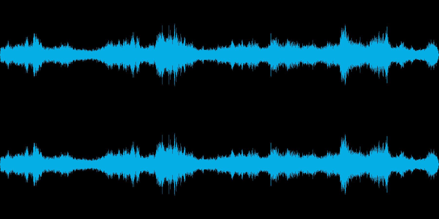 交通都市環境の声の再生済みの波形