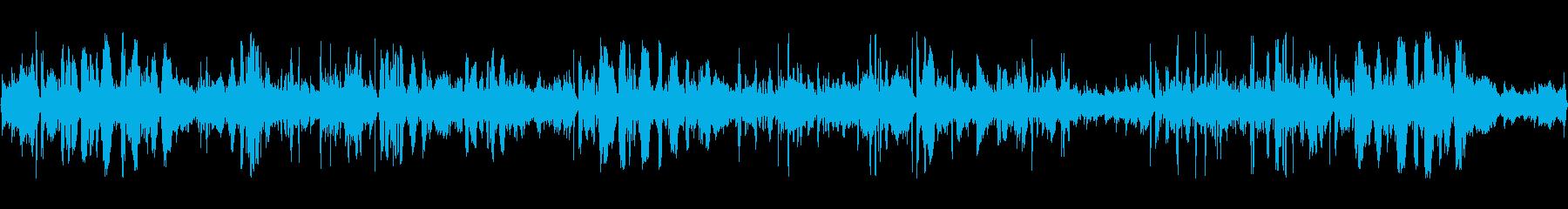 スパイス効いたエスニック・コミックソングの再生済みの波形