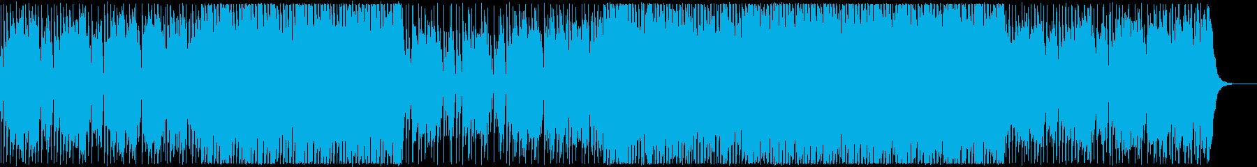リラックス・夏のCM・女性ボーカルレゲエの再生済みの波形