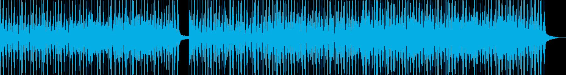 強い響きがかっこいいメロディーの再生済みの波形