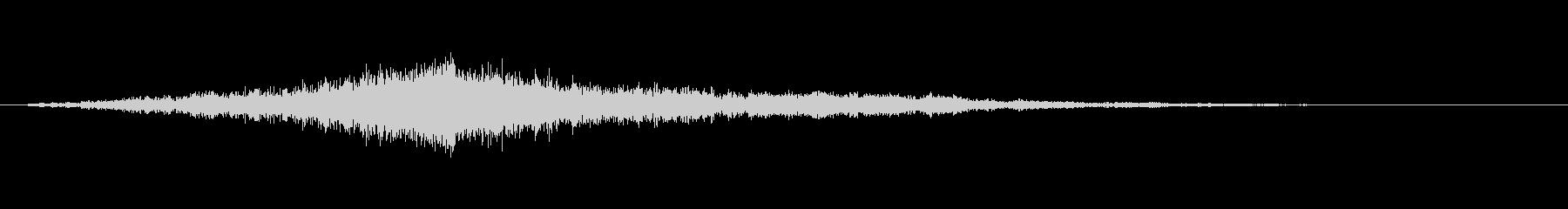 映画でよくあるライズヒットなサウンドロゴの未再生の波形