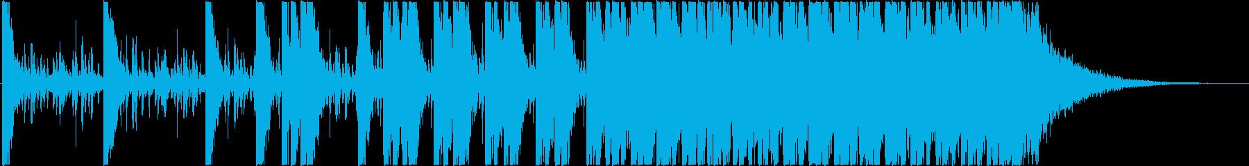 粘着(ベタベタ・ネバネバ)のイメージの再生済みの波形