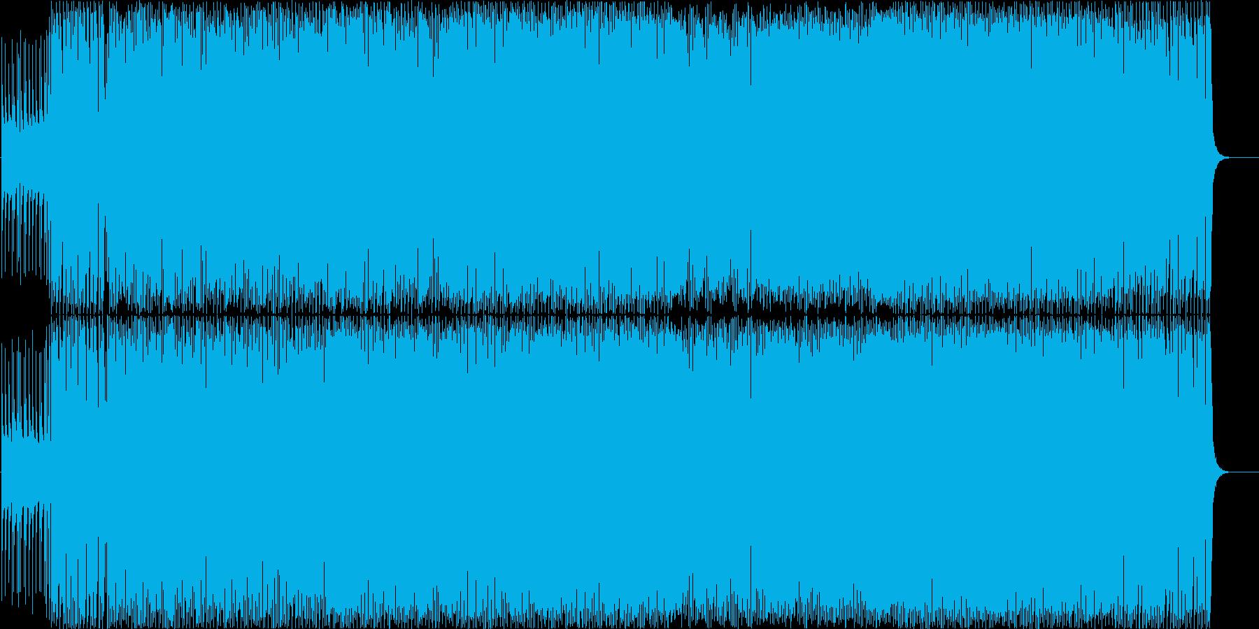 〔英語歌詞〕キュートな女性ボーカル曲 の再生済みの波形