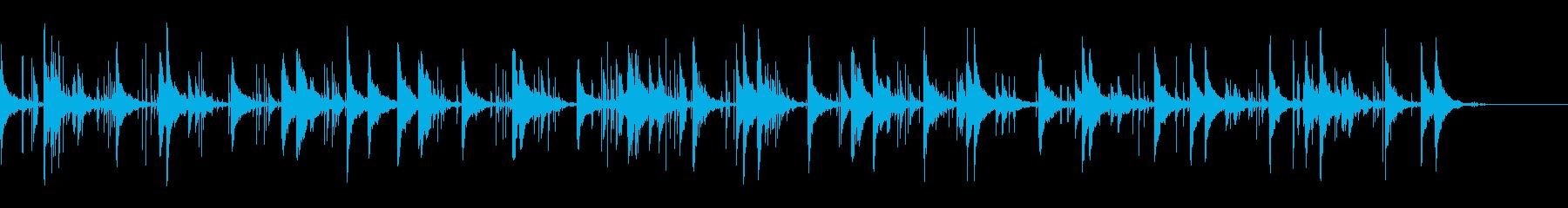 KANT静かで 無機質・科学的BGMの再生済みの波形