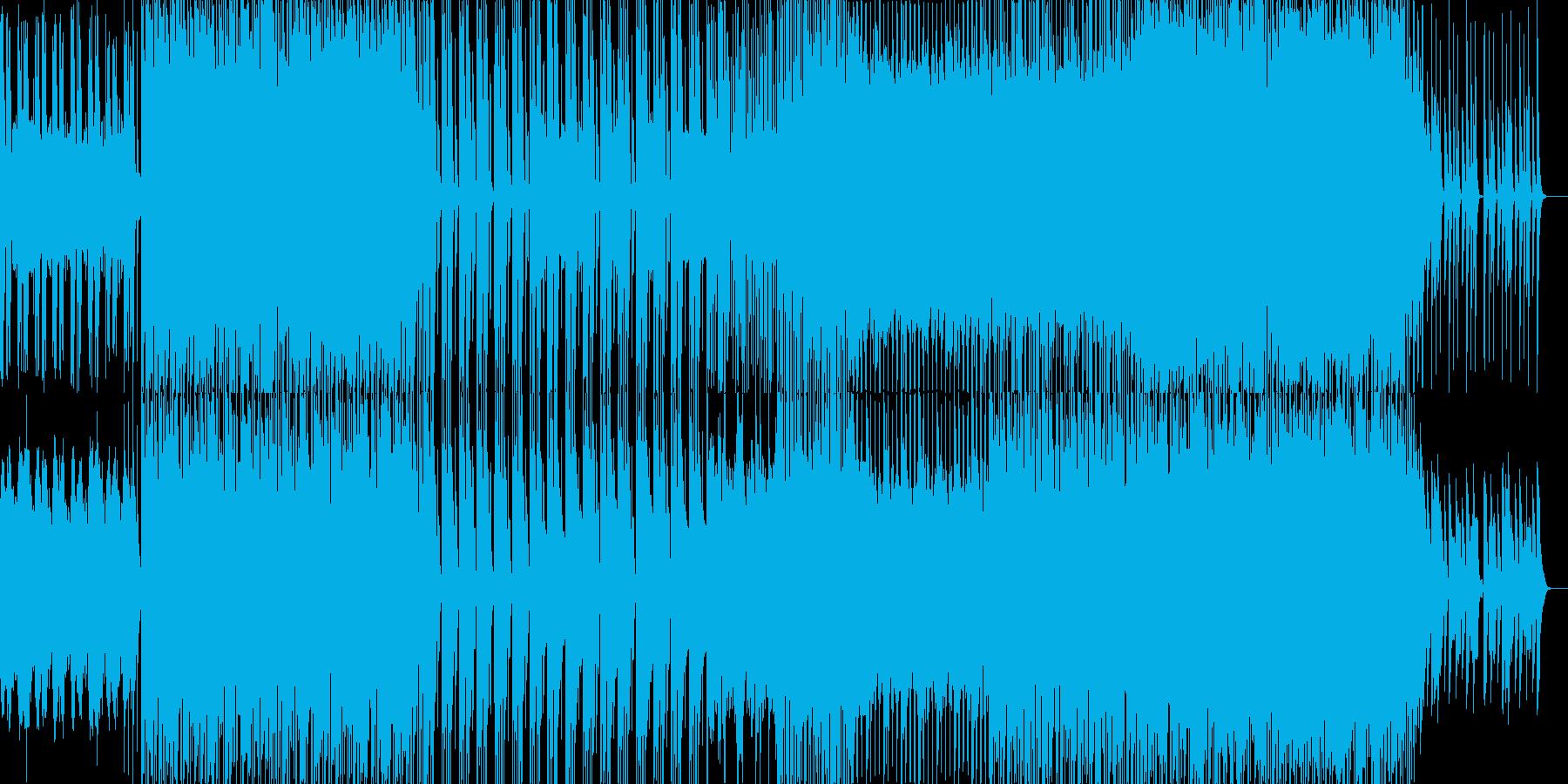 穏やかなで壮大なEDMの再生済みの波形