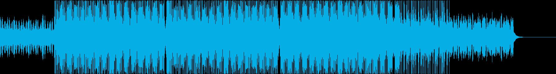 とにかく爽快で幅広い使い方ができるBGMの再生済みの波形