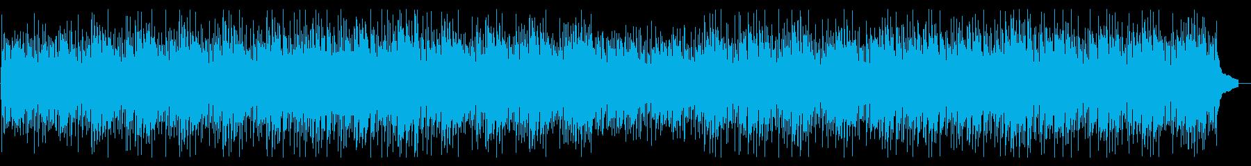 【コンガ抜】のんびりお気楽なウクレレの再生済みの波形