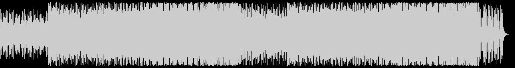 ピアノのラテン系ポップスの未再生の波形