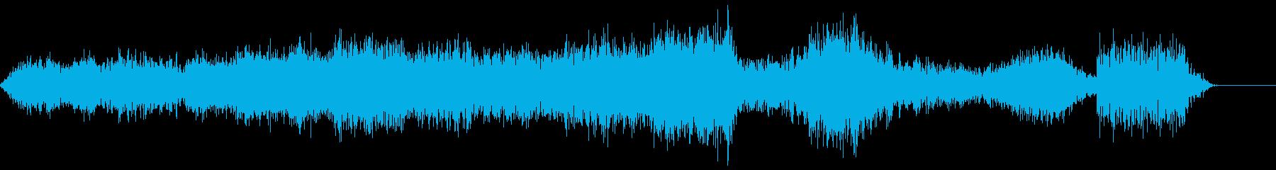 ランブル5の再生済みの波形