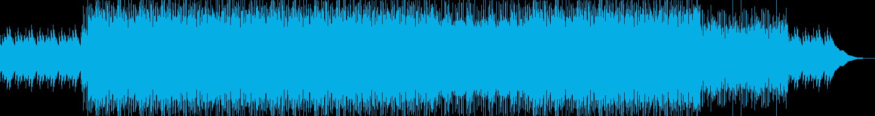シンプルなロックギターサウンド-01の再生済みの波形