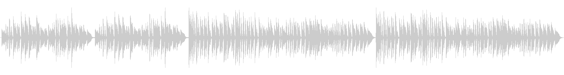 オペラ ほのぼの 幸せ ピアノの未再生の波形