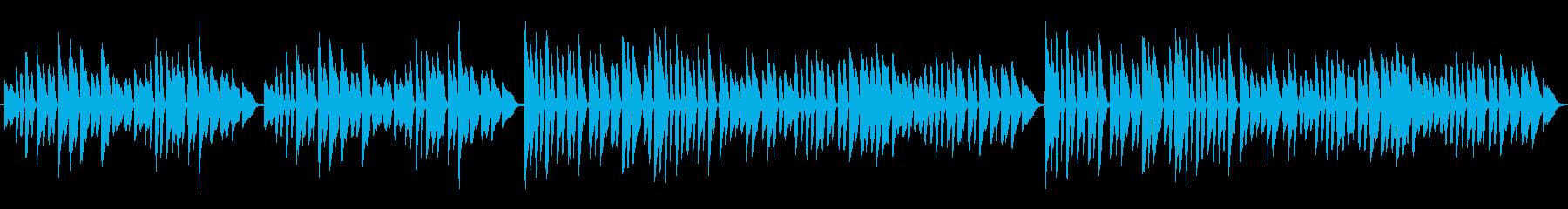 オペラ ほのぼの 幸せ ピアノの再生済みの波形