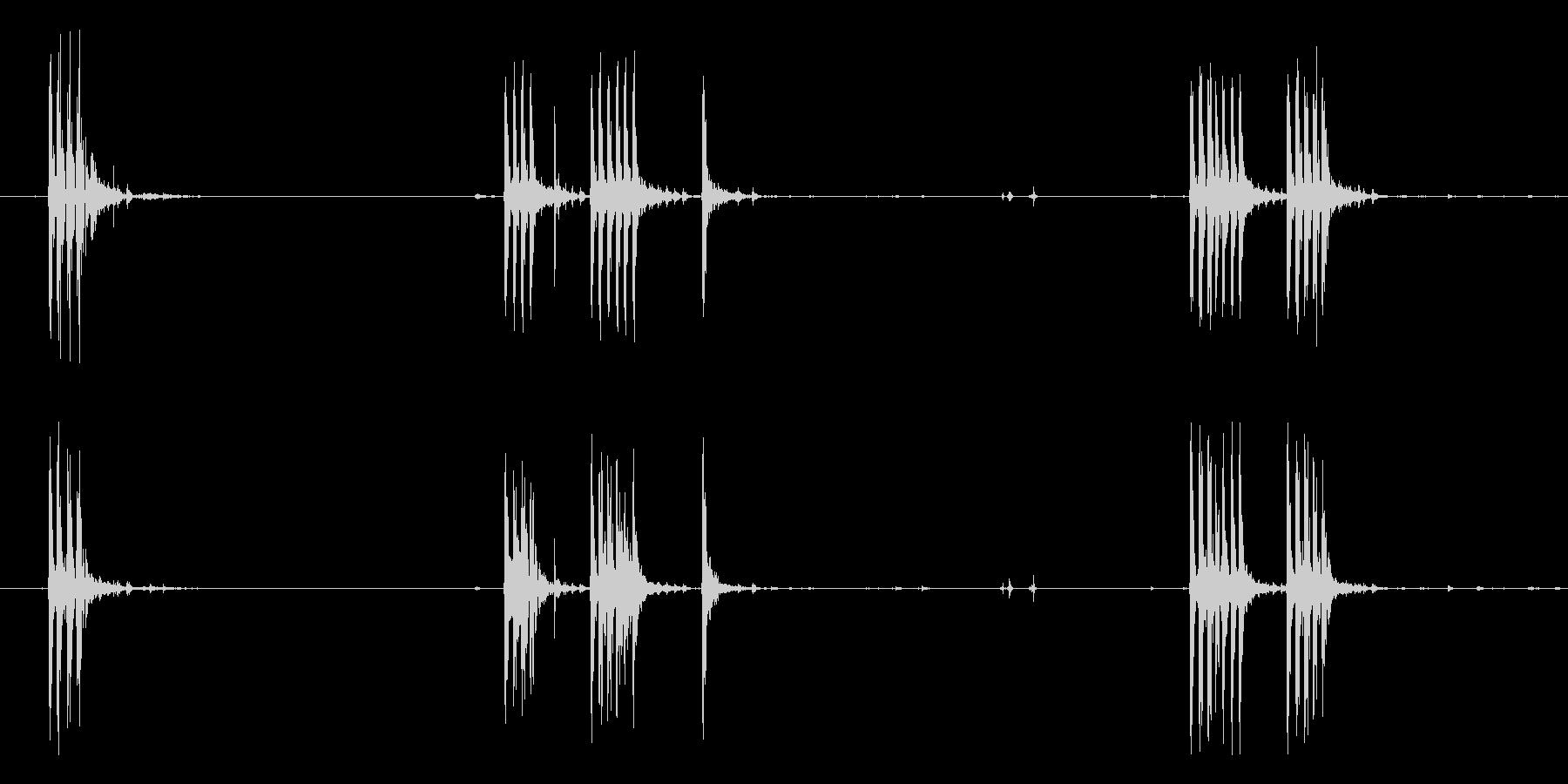 ブラウニングM1919機関銃:いく...の未再生の波形